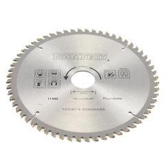 Kreissägeblatt 190 x 2.4 x 30 mm x 60T für NE-Metall und PVC