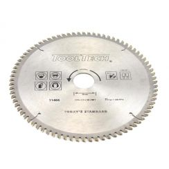Kreissägeblatt 210 x 2.6 x 30 mm x 80T für NE-Metall und PVC