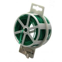 Bindedraht 40 m grün plastifiziert